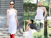 Thời trang - Váy áo du xuân đẹp và cá tính cho bạn gái chân ngắn