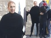 Celine Dion lộ diện phờ phạc sau khi chồng qua đời