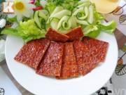 Bếp Eva - Làm thịt heo khô nướng cay để dành đãi khách