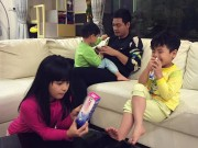 Làm mẹ - MC Phan Anh kể chuyện chăm 3 con khi vợ vắng nhà