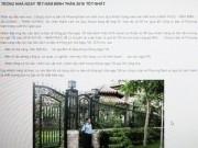 Tin tức - Người giàu Sài Gòn thuê dịch vụ trông nhà tết