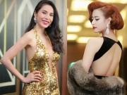 Thời trang - Mỹ nhân Việt phong phanh lưng trần trong giá rét