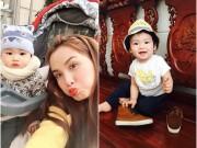 Làng sao - Con trai HH Diễm Hương ngày càng đáng yêu