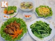 Bếp Eva - Bữa cơm chiều 5 món siêu ngon
