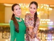 Làng sao - Phạm Hương, Thu Hoài thân thiết như chị em