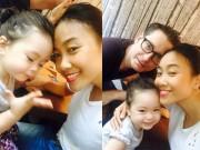 Làng sao - Đoan Trang hạnh phúc ấm áp bên chồng con