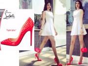 Thời trang - Phạm Hương đụng giày huyền thoại với loạt sao Hollywood