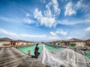 Eva Yêu - Mãn nhãn bộ ảnh cưới 200 triệu ở Maldives