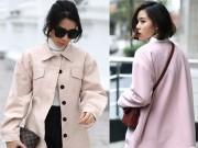 Thời trang - Phái đẹp Hà Nội chọn áo khoác ngọt lịm xua tan giá lạnh