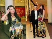 """Làng sao - Phi Thanh Vân sắp sinh vẫn """"nhí nhảnh"""" đi sự kiện"""
