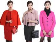 Thời trang - Những mẫu áo khoác nữ công sở không nên tiếc tiền