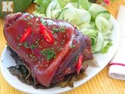 Bếp Eva - Chân giò hầm ngũ vị xua tan giá lạnh