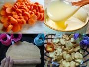 Làm mẹ - Giòn giòn bánh cà rốt bột mỳ mẹ tự làm đãi bé