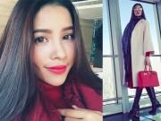 Thời trang - Phạm Hương sang chảnh với túi xách gần 500 triệu