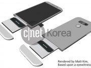 Eva Sành điệu - Smartphone cao cấp của LG sẽ có khe cắm phụ kiện đặc biệt