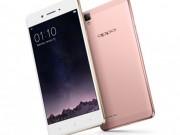 Eva Sành điệu - Smartphone F1 Plus của Oppo: Màn hình 5,5 inch, RAM 4 GB