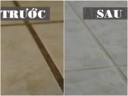 Nhà đẹp - Hai cách tự nhiên vệ sinh sàn nhà sáng bóng