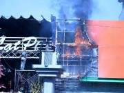 Tin tức - TPHCM: Cháy quán cà phê, khách nháo nhác bỏ chạy