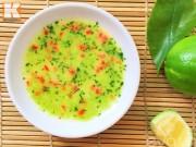Bếp Eva - Cách pha muối chanh ớt chấm gà luộc ngon, chuẩn