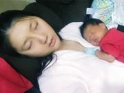 Làng sao - Ngọc Quyên hạnh phúc bên con trai 3 tuần tuổi