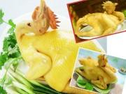 Bếp Eva - Cách chọn, luộc gà cúng ngon và đẹp mắt