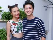 Làng sao - Hoàng Oanh khoe eo thon cạnh bạn trai Huỳnh Anh