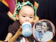 Làng sao - HH Diễm Hương cho con trai 1 tuổi đi làm tóc đón Tết