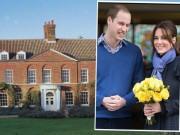 Nhà đẹp - Lâu đài sang từ bé đến lớn của công nương Kate Middleton
