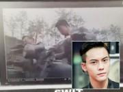 Nam tài tử điển trai Trần Vỹ Đình bị tai nạn gãy chân