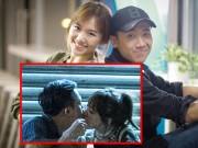 Làng sao - Trấn Thành - Hari Won bị nghi cố tình PR khi lộ ảnh hôn nhau