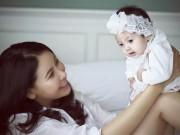 """Làng sao - Con gái Hà Kiều Anh 3 tháng tuổi """"trổ tài"""" làm mẫu nhí"""