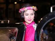 Thời trang - Á hậu 3 con Phương Lê trẻ măng nhờ sắc hồng rực rỡ
