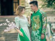 DJ Ngọc Anh nền nã áo dài xuân bên người yêu