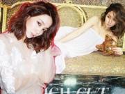 """Lee Min Jung khoe nhan sắc """"gái một con"""" mặn mà"""