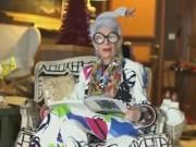 """Clip Eva - """"Người mẫu thời trang"""" 95 tuổi với phụ kiện bắt mắt"""