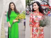 Ảnh đẹp Eva - Lương Giang dịu dàng với áo dài ở cố đô
