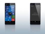 Eva Sành điệu - Vaio ra mắt smartphone Phone Biz chạy Windows 10
