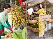 Nhà đẹp - Chợ Tết độc đáo trong nhà HH Đền Hùng Giáng My