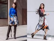Thời trang - Siêu mẫu Khả Trang khoe dáng trong nắng xuân Sài Gòn