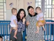 Hậu trường - Tuyền Mập có bầu 8 tháng vẫn hăng say đi từ thiện cận Tết
