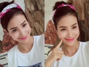 Phạm Hương gây thương nhớ với tóc băng đô xinh xắn