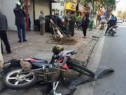 """Tin tức - """"Xe điên"""" gây tai nạn khiến 2 người bị thương nặng"""