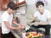 Làng sao - Hồ Quang Hiếu tự tay vào bếp ngày xuân