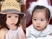 Làm mẹ - Những nhóc tỳ con lai đẹp như thiên thần nhà sao Việt
