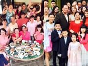 Làng sao - Sao Việt khoe đại gia đình đông đúc dịp đầu năm