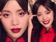 Làm đẹp - Video trang điểm: Quyến rũ trong sắc đỏ của ngày lễ tình nhân