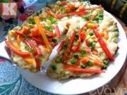 Bếp Eva - Bánh chưng thừa sau Tết làm pizza siêu ngon