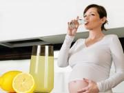 Bà bầu - Thanh lọc cơ thể cho mẹ bầu sau Tết