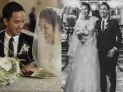 Làng sao - Hà Tăng tiết lộ ảnh cưới tuyệt đẹp nhiều năm trước