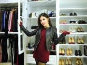 Thời trang - Choáng ngợp trước tủ đồ tiền tỷ của Á hậu Huyền My